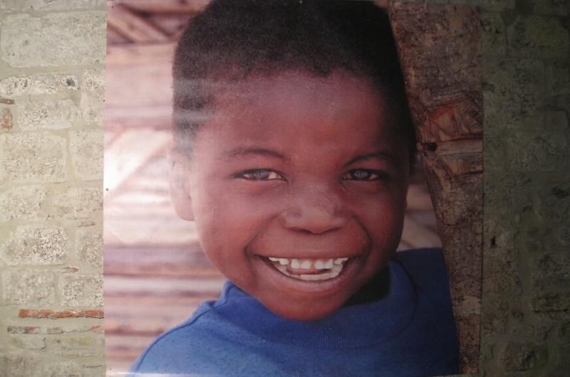 Il sorriso di un bambino del Mozambico