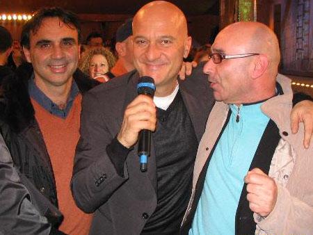 Valter Assenti e Tullio Luciani con Bisio a Zelig