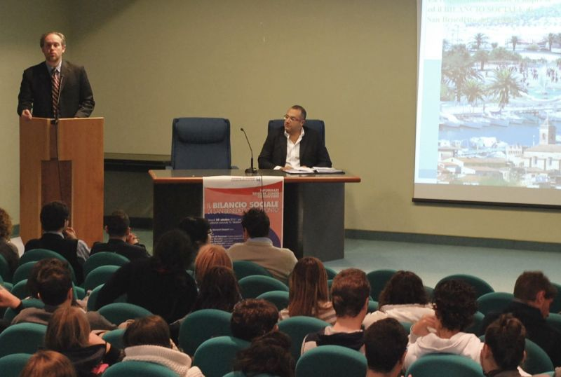 L'assessore Antimo Di Francesco presenta il Bilancio Sociale del Comune di San Benedetto