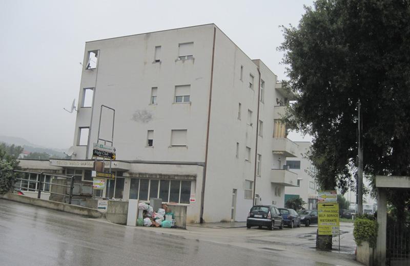 La palazzina in via dei Castani