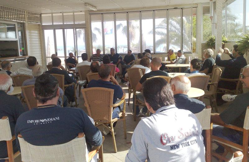 L'incontro dell'Itb Italia allo chalet La Siestra, lunedì 4 ottobre
