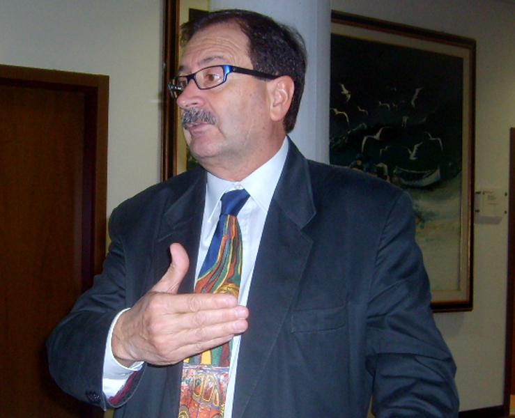L'assessore ai Lavori Pubblici Leo Sestri