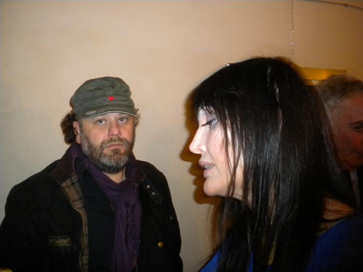 Alla mostra anche Anna Oxa, che lunedì terrà un concerto al Ventidio