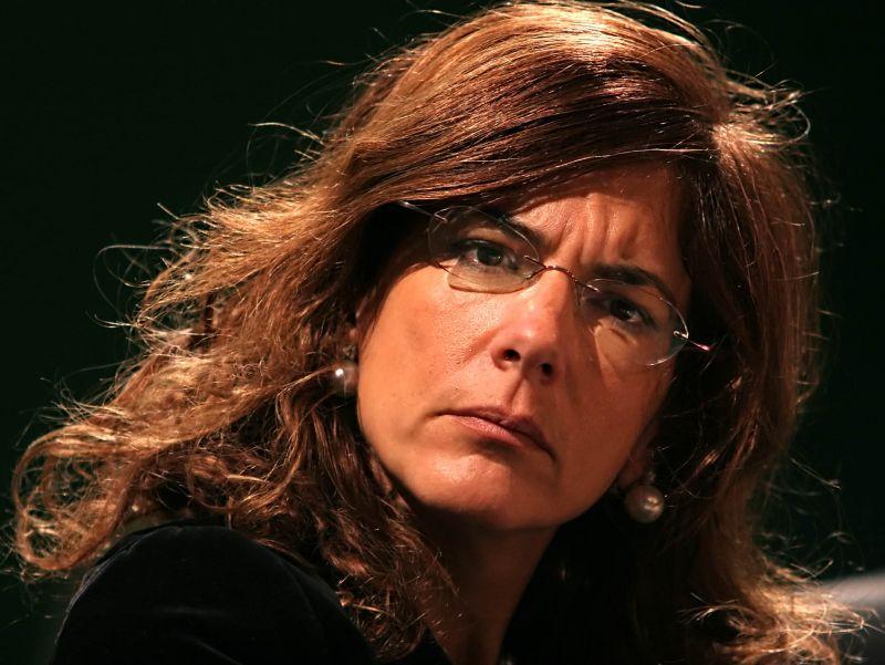 Emma Marcegaglia in una foto pubblicata nel 2009 proprio da Il Giornale