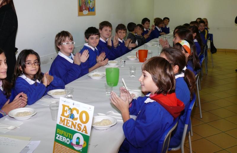 L'Eco-mensa porta a zero i rifiuti in discarica