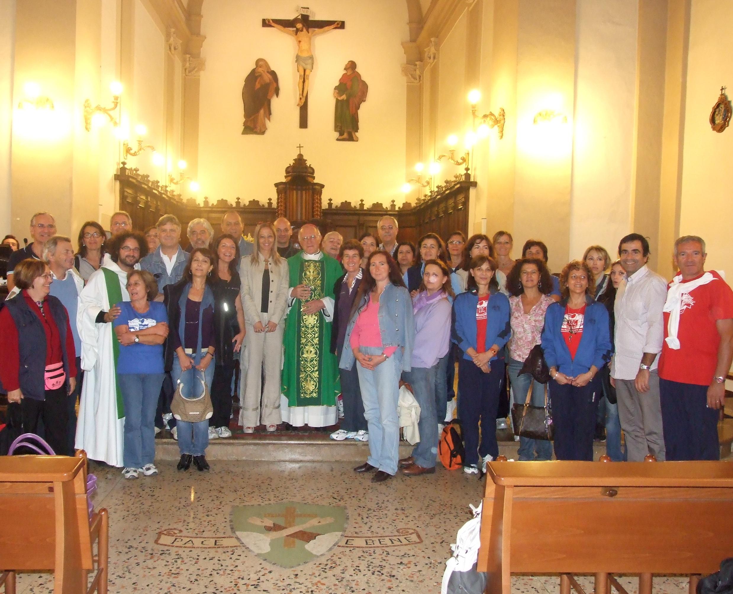 Visita al Santuario di San Giacomo della Marca