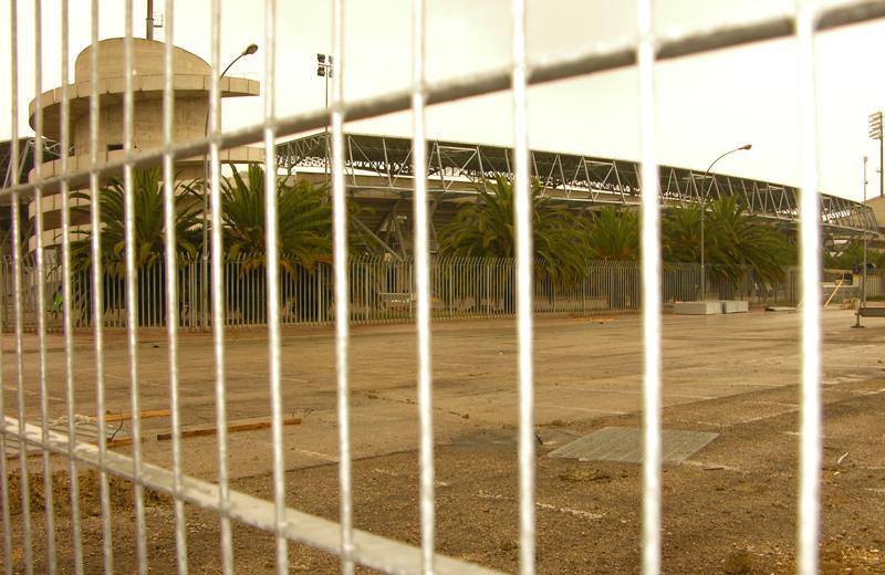 Riviera delle Palme, lavori in corso, ottobre 2010