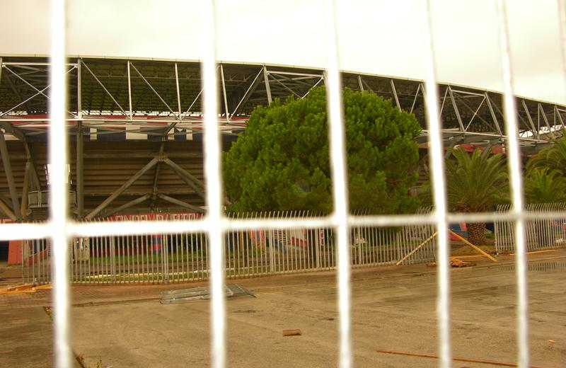 Riviera delle Palme lavori in corso, ottobre 2010