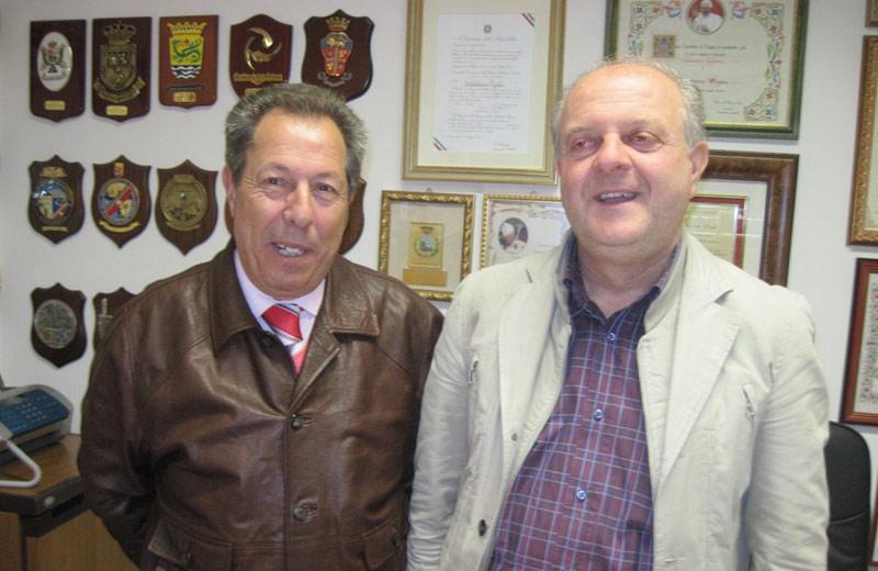 Salvatorino Puglia e Alessandro Collevecchio