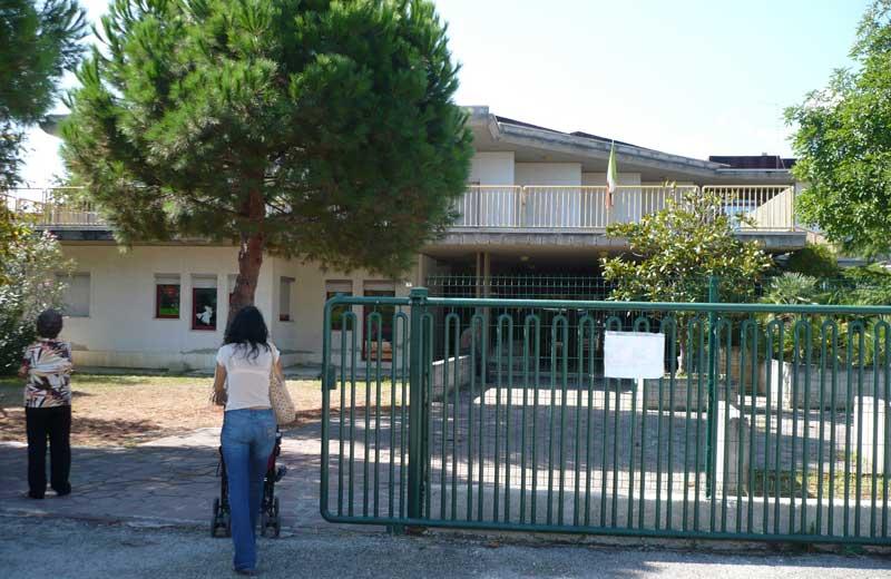 La scuola elementare di Villa Rosa