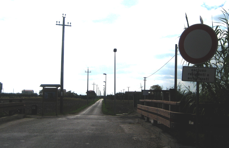 L'ingresso della Sentina