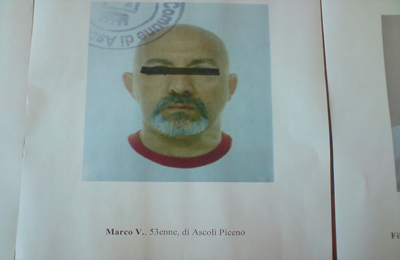 Marco Valentini, residente a Ascoli Piceno,