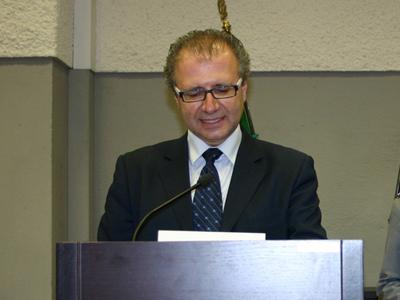 Il presidente della Provincia di Teramo Valter Catarra