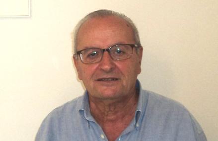Giancarlo Viscioni, presidente dell'associazione Vibrata Picena