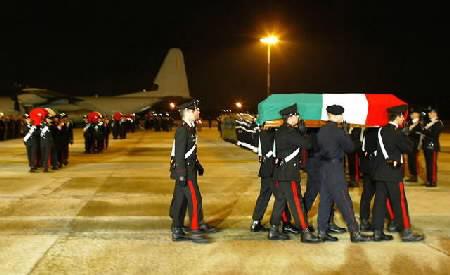 Ciampino arrivo dei caduti di Nassirya- Copyright : militariforum.it