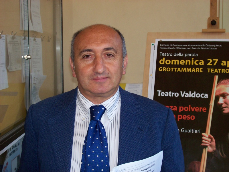 Cesare Carboni, assessore alle Attività Produttive del Comune di Grottammare