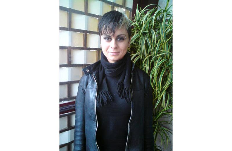 Paola Narcisi nel suo quotidiano