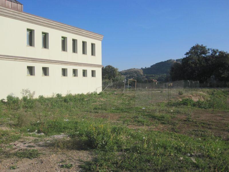 Chiesa Madonna della Speranza. Il terreno dove sarà costruito il campetto sportivo polivalente