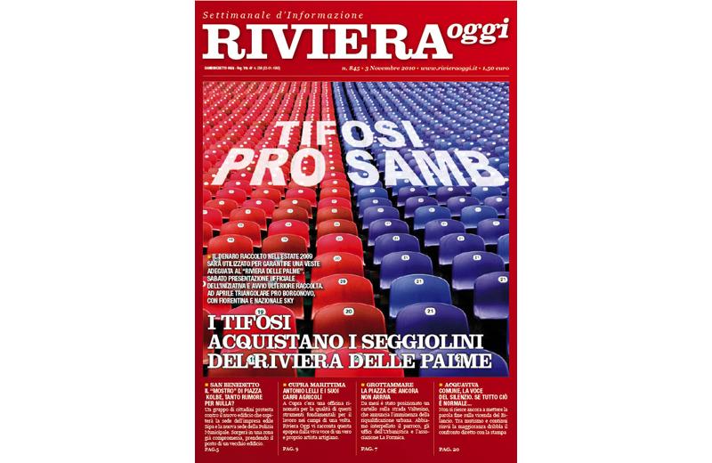 La copertina di Riviera Oggi numero 845