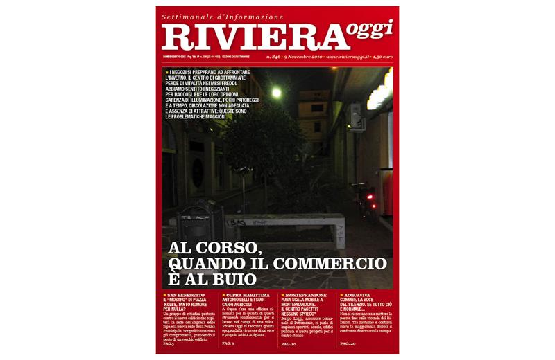 Riviera Oggi numero 846, la copertina per l'edizione di Grottammare