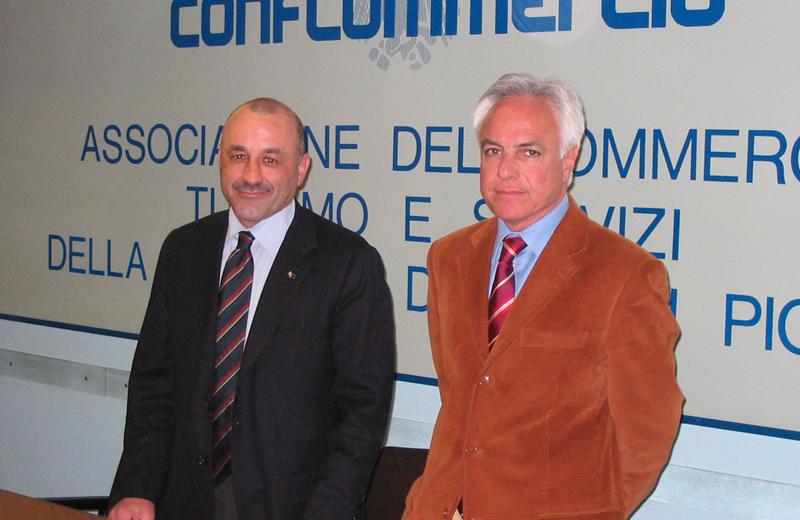 Igino Cacciatori e Giorgio Fiori
