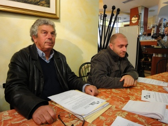 Giuseppe Ricci e Domenico Ricci, presidente e avvocato dell'Itb