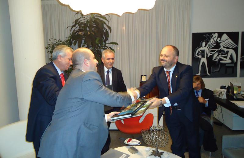 Incontro con la delegazione del Kosovo