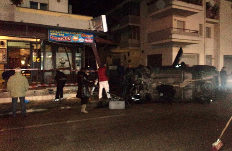 L'incidente ad Alba Adriatica