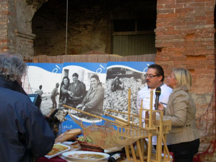 Linea Blu, Donatella Bianchi al Ristorante Caserma Guelfa