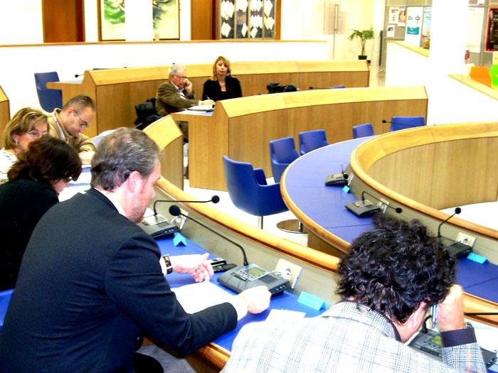 Commissione Bilancio, Sala Consiliare