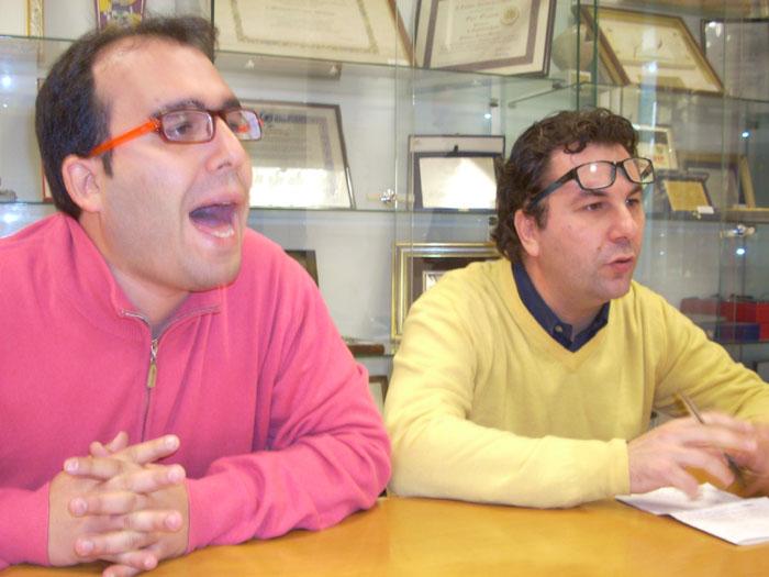 Giorgio Mancini e Luca Spadoni