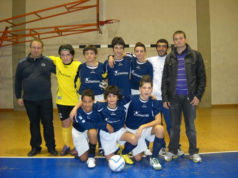 Gagliarda under 14 calcio a 5