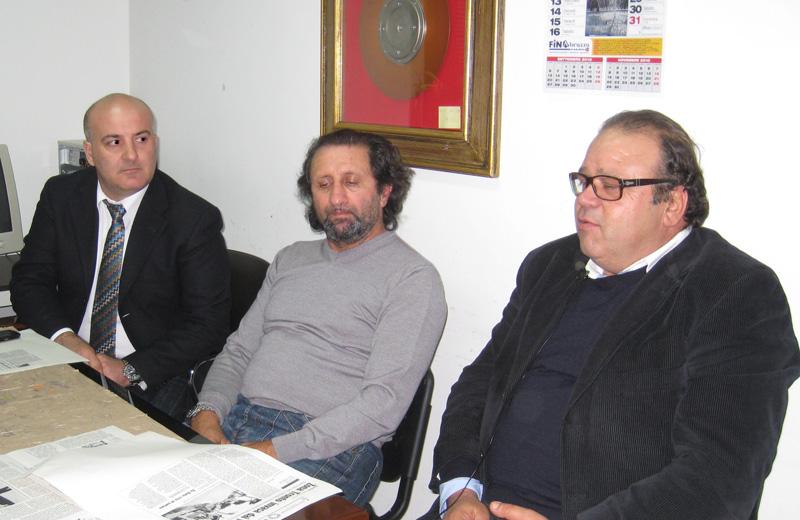 Berardo Rabbuffo, Toni Lattanzi e Gianfranco De Luca