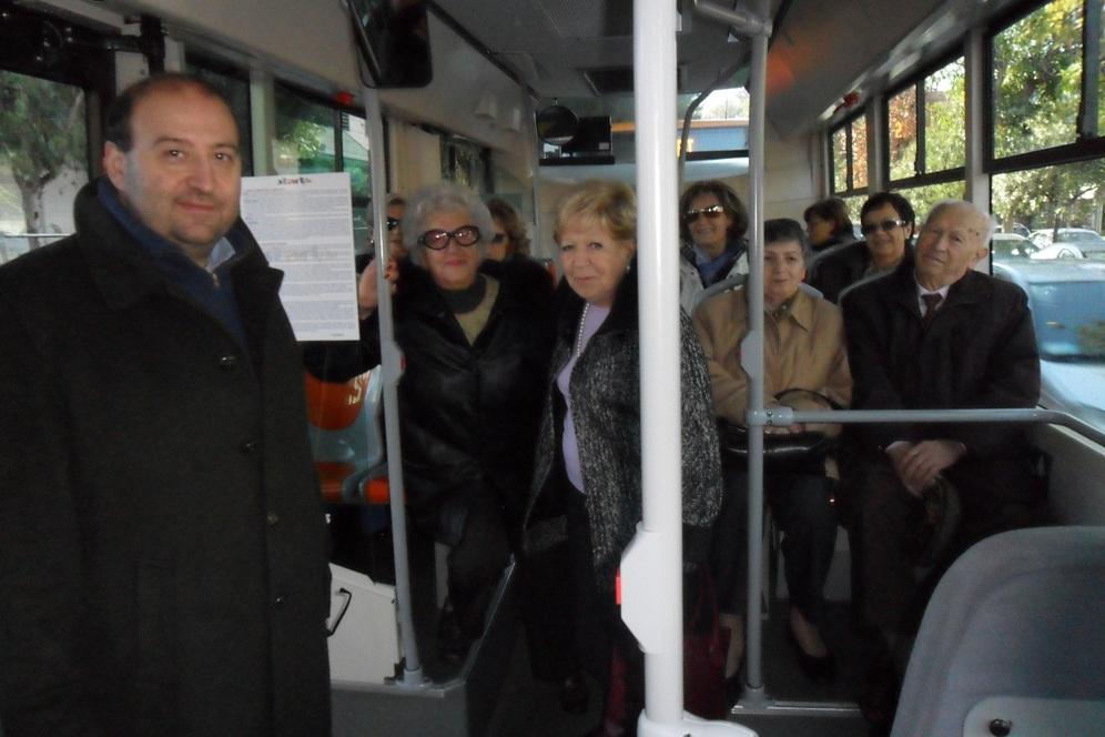 L'assessore Antonini sul Bus a metano