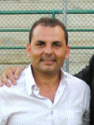 Il presidente del Grottammare Luigi Furnari