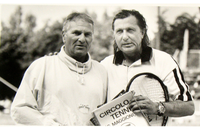 Ilie Nastase ed Albano Santirocco
