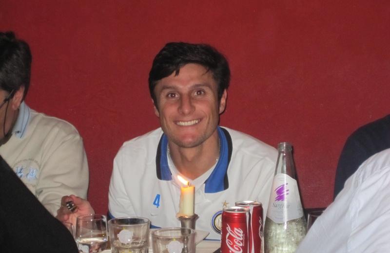 Javier Zanetti, nel suo ristorante argentino, El Gaucho