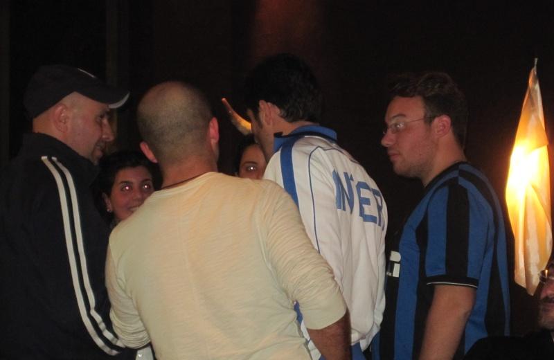 Javier Zanetti, si intrattiene con i suoi tifosi
