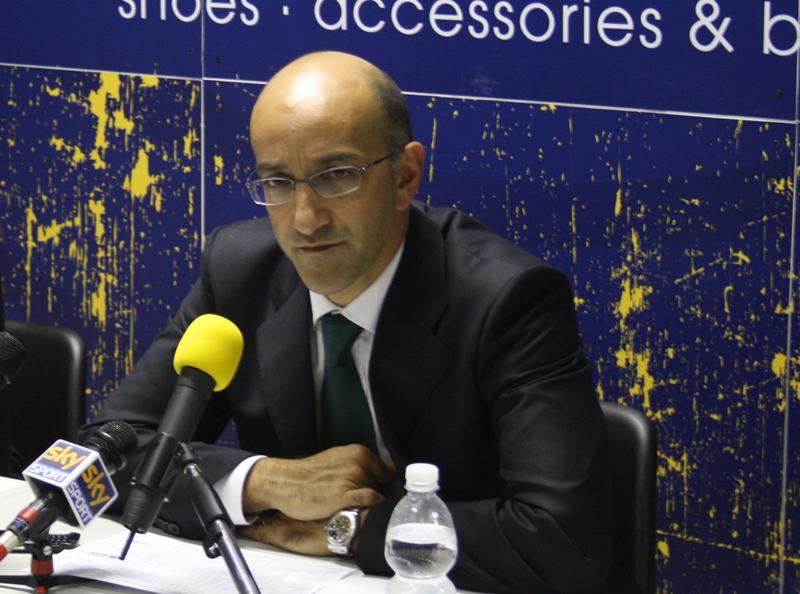 L'allenatore della Air Avellino, Francesco Vitucci