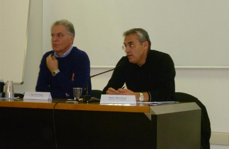 Piero Celani e Enrico Bracalente