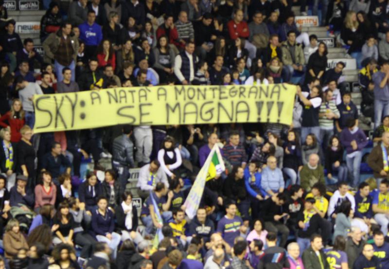 Non troppo velata protesta contro Sky per la gara che si terrà il giorno di Natale a Pesaro