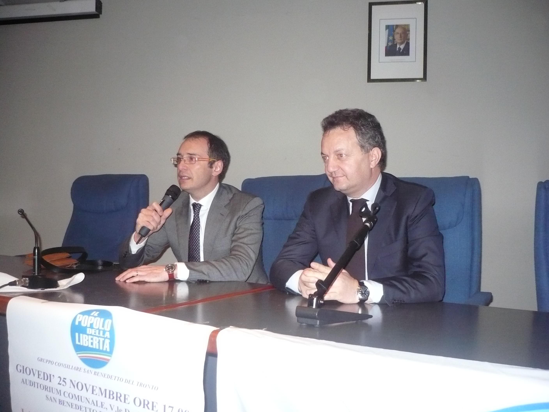 Bruno Gabrielli e Sergio Pizzolante