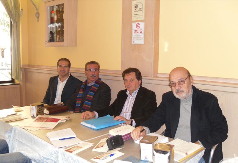 Pacifico Malavolta, Gino Gasparretti, Romano Speca, Tonino Simonetti