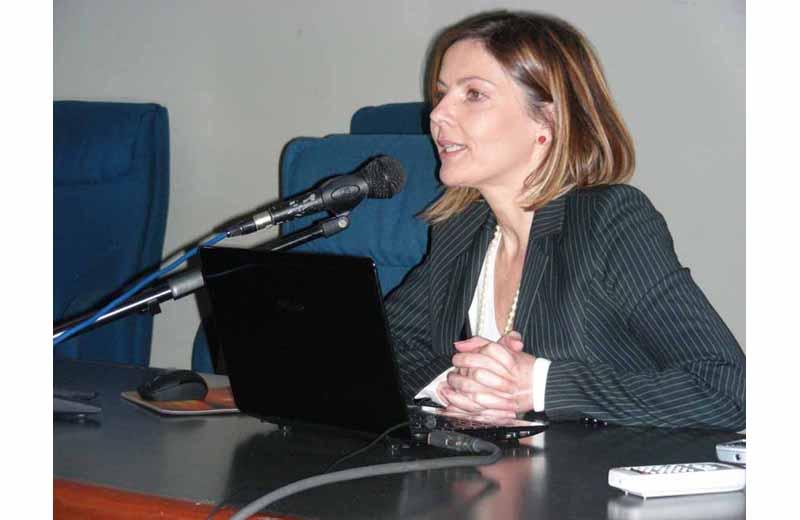 La dottoressa Romina Fani