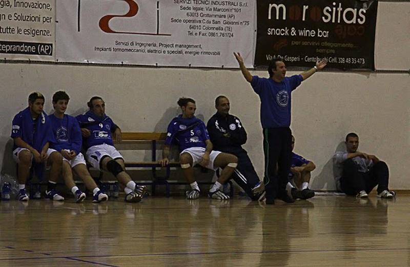 Il coach Romandini