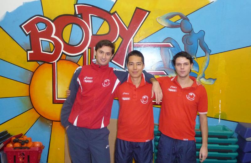 Tennis da tavolo, i giocatori della TT Oikos San Benedetto