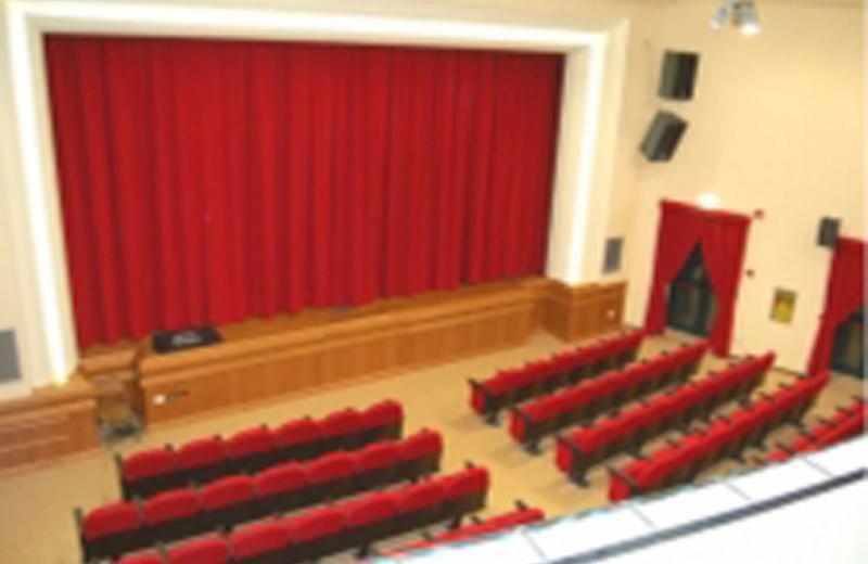 La sala del teatro di San Filippo Neri