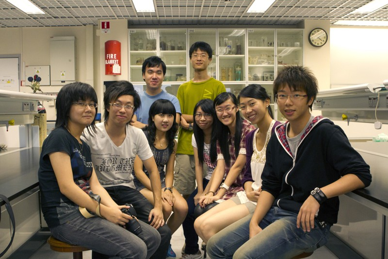 La squadra dell'Università cinese di Hong Kong alla competizione Igem
