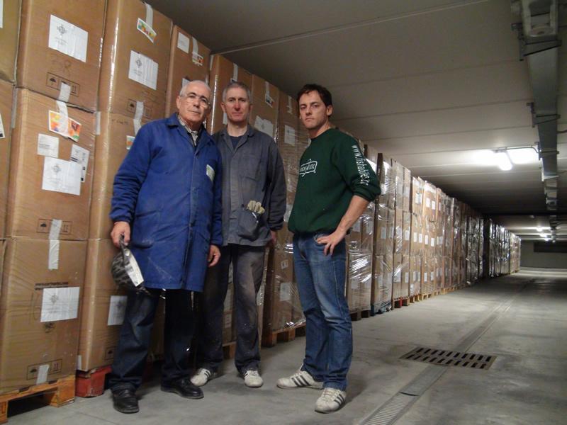 Da sinistra Fortunato Amabili, Giorgio Sciarroni e Roberto Crescenzi
