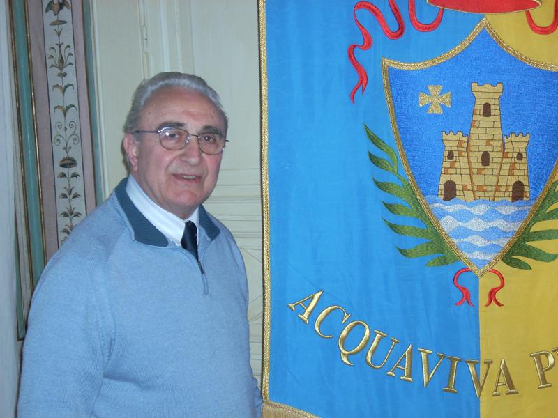 Il sindaco di Acquaviva Picena, Tarcisio Infriccioli
